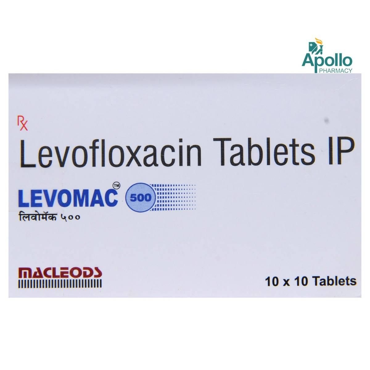 Levomac 500 Tablet 10's