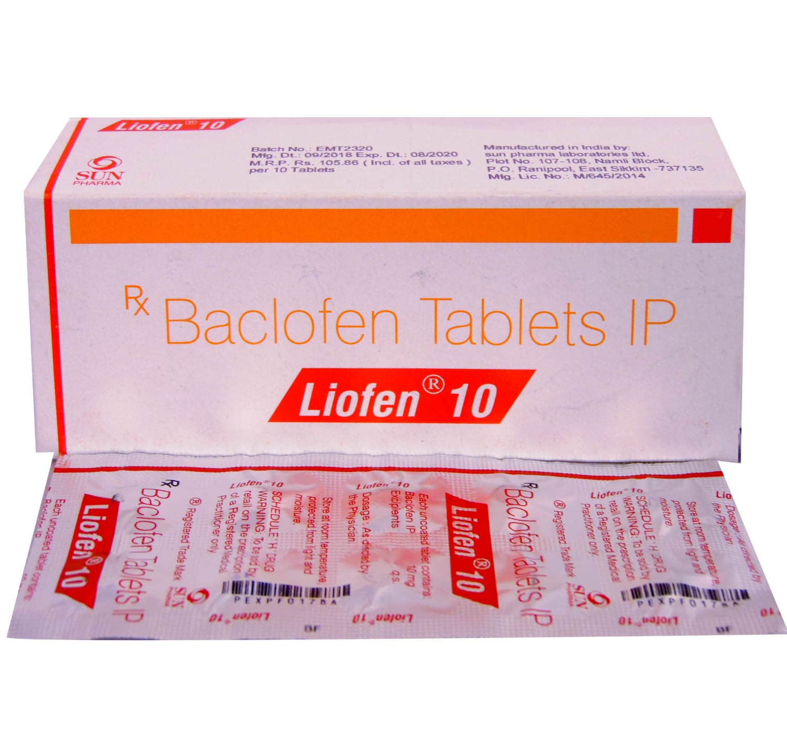 Liofen 10 Tablet 10's
