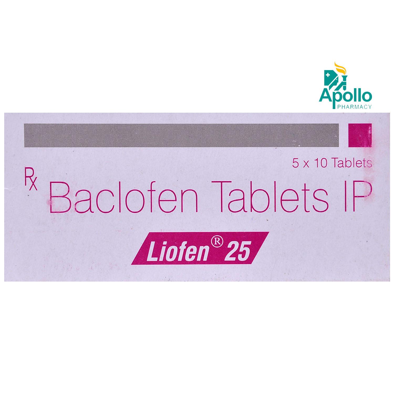 Liofen 25 Tablet 10's