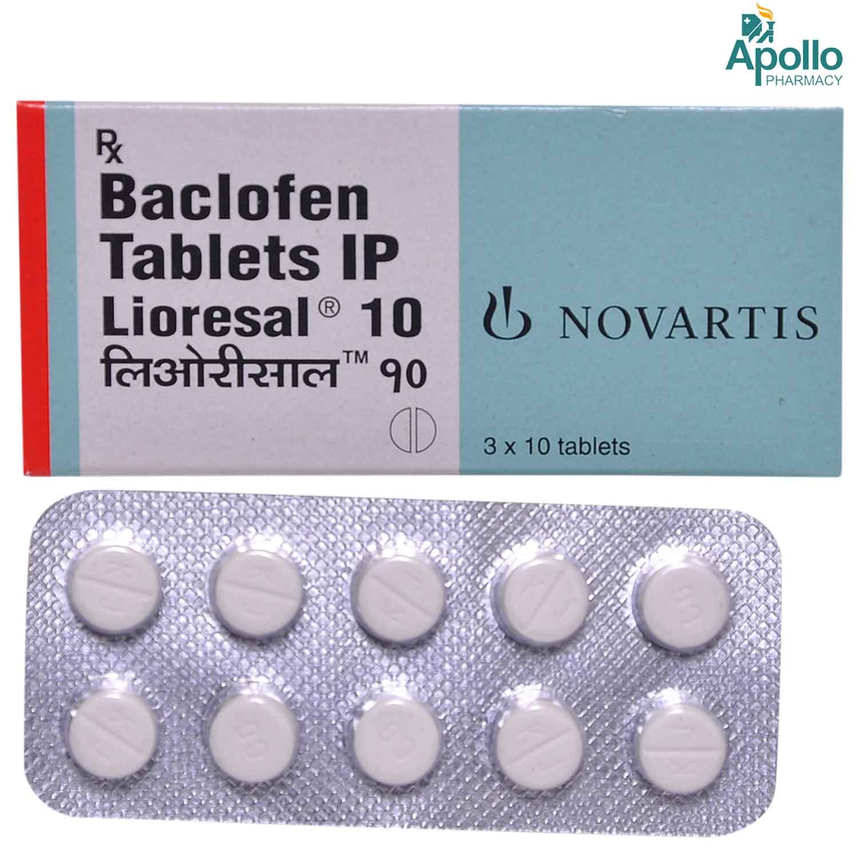 Lioresal 10 Tablet 10's