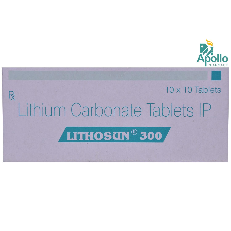 Lithosun 300 Tablet 10's