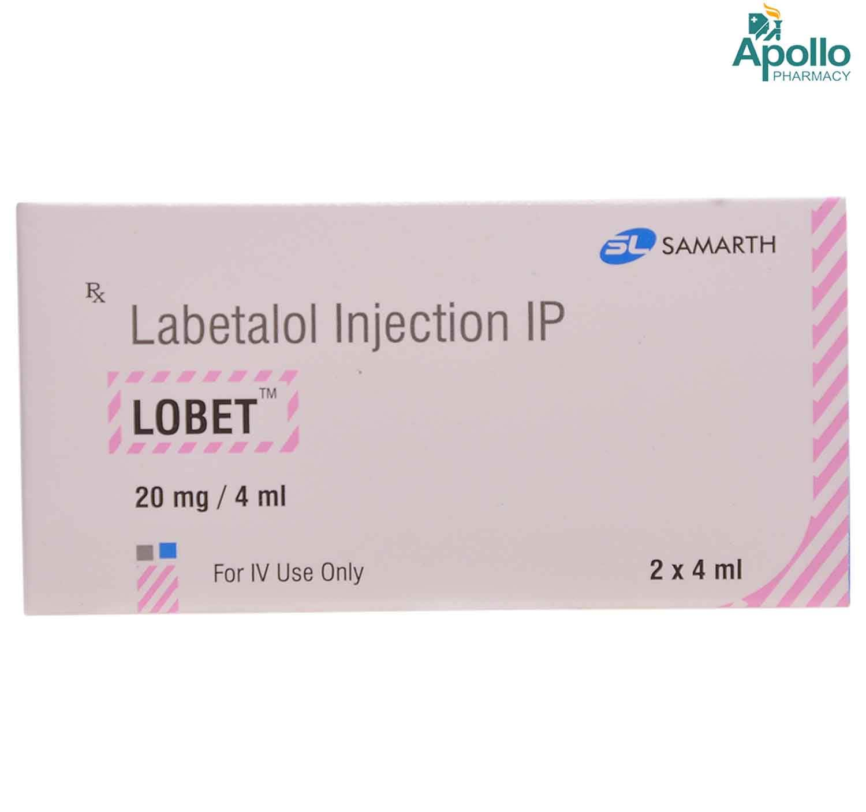 LOBET 20MG INJECTION 4ML