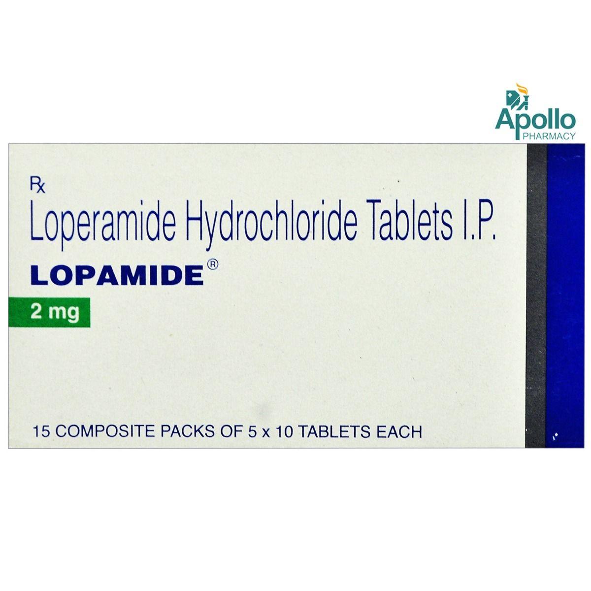 Lopamide Tablet 10's