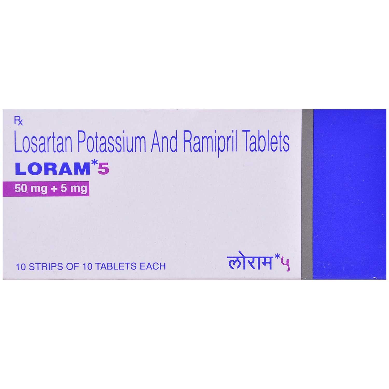 Loram 5 Tablet 10's