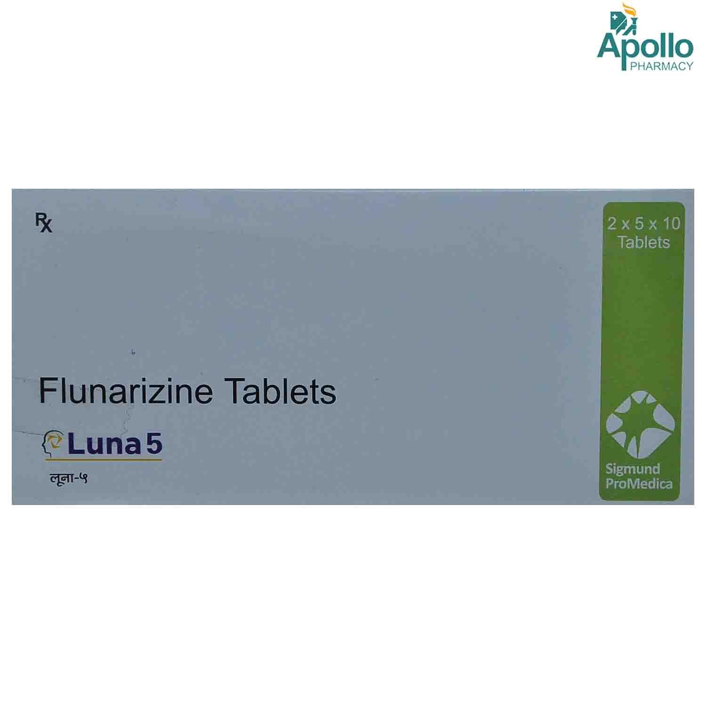 LUNA 5MG TABLET