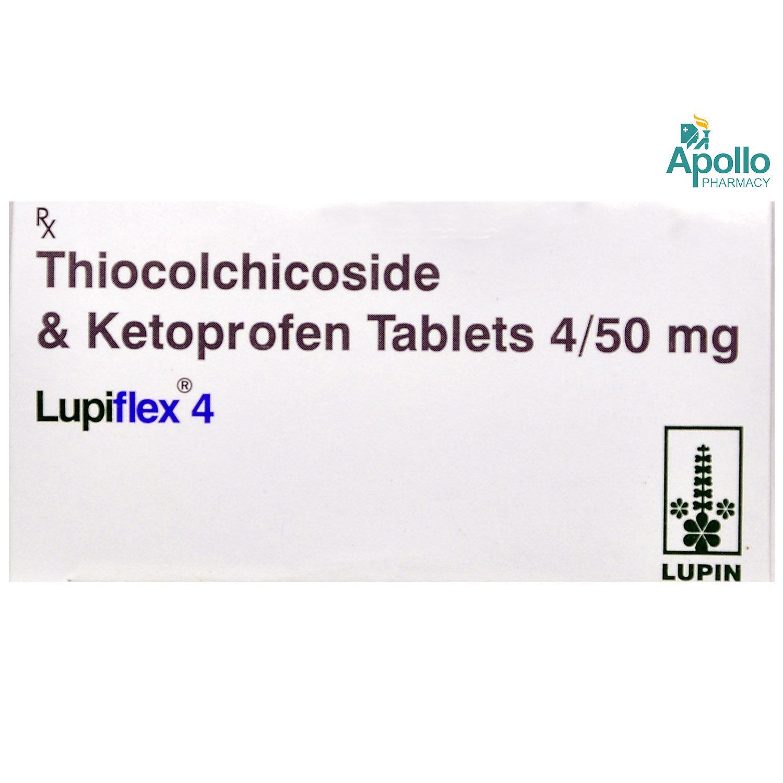 LUPIFLEX 4MG TABLET