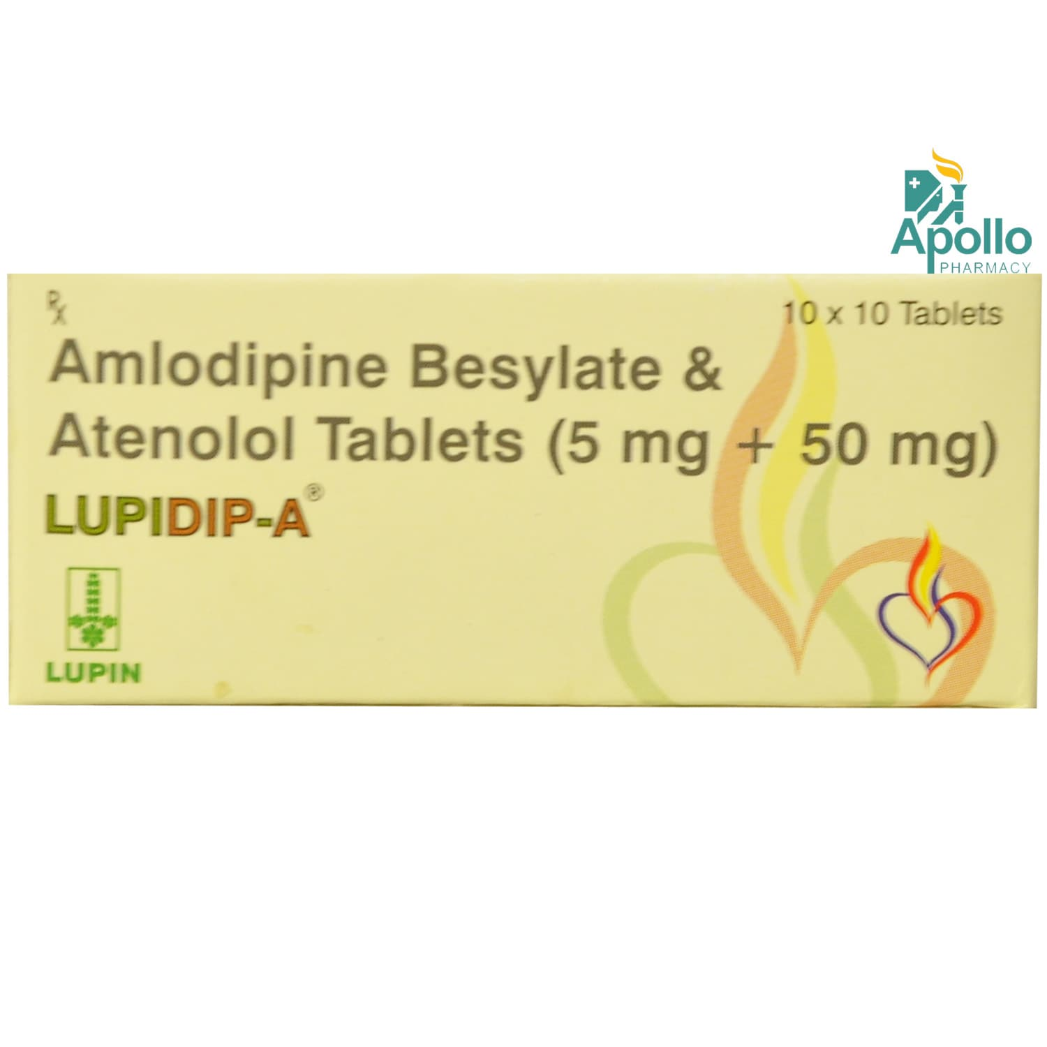 Lupidip A Tablet 10's