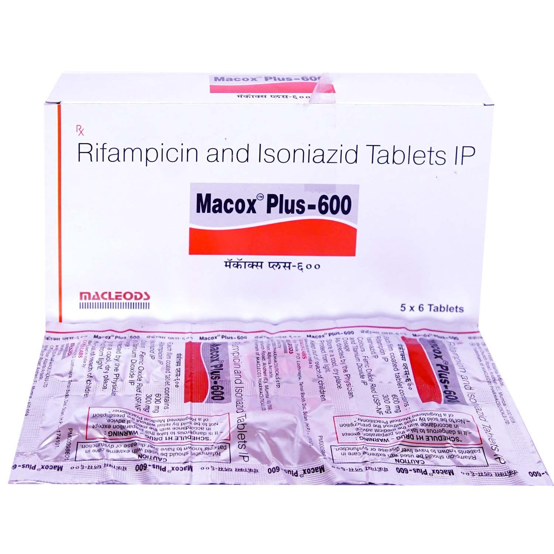 MACOX PLUS 600MG TABLET