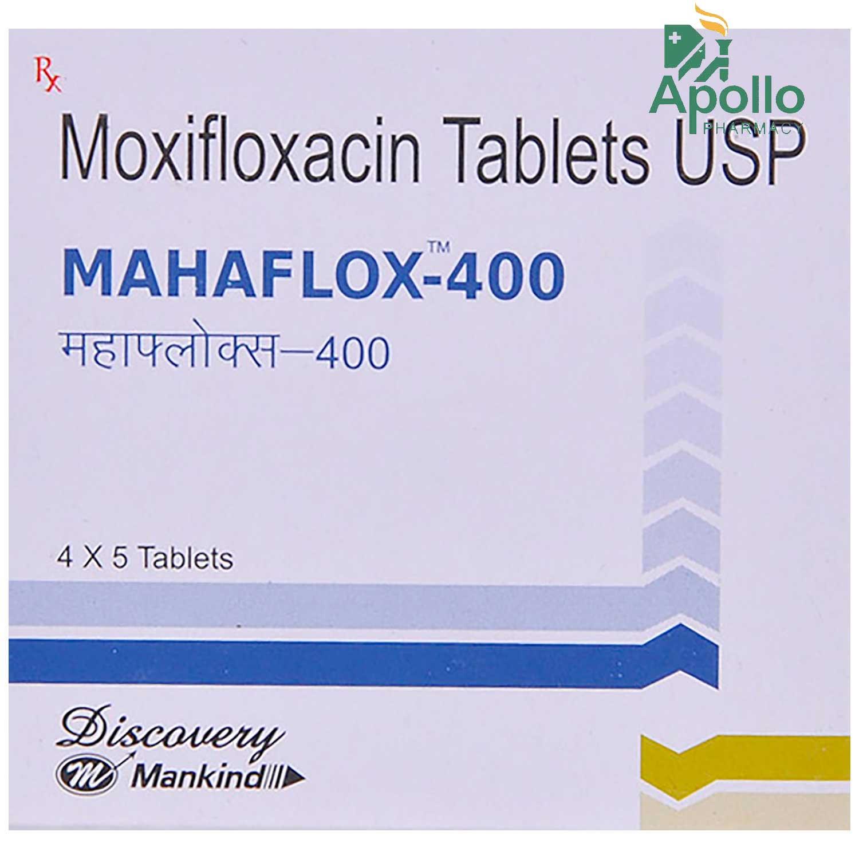 Mahaflox-400 Tablet 5's