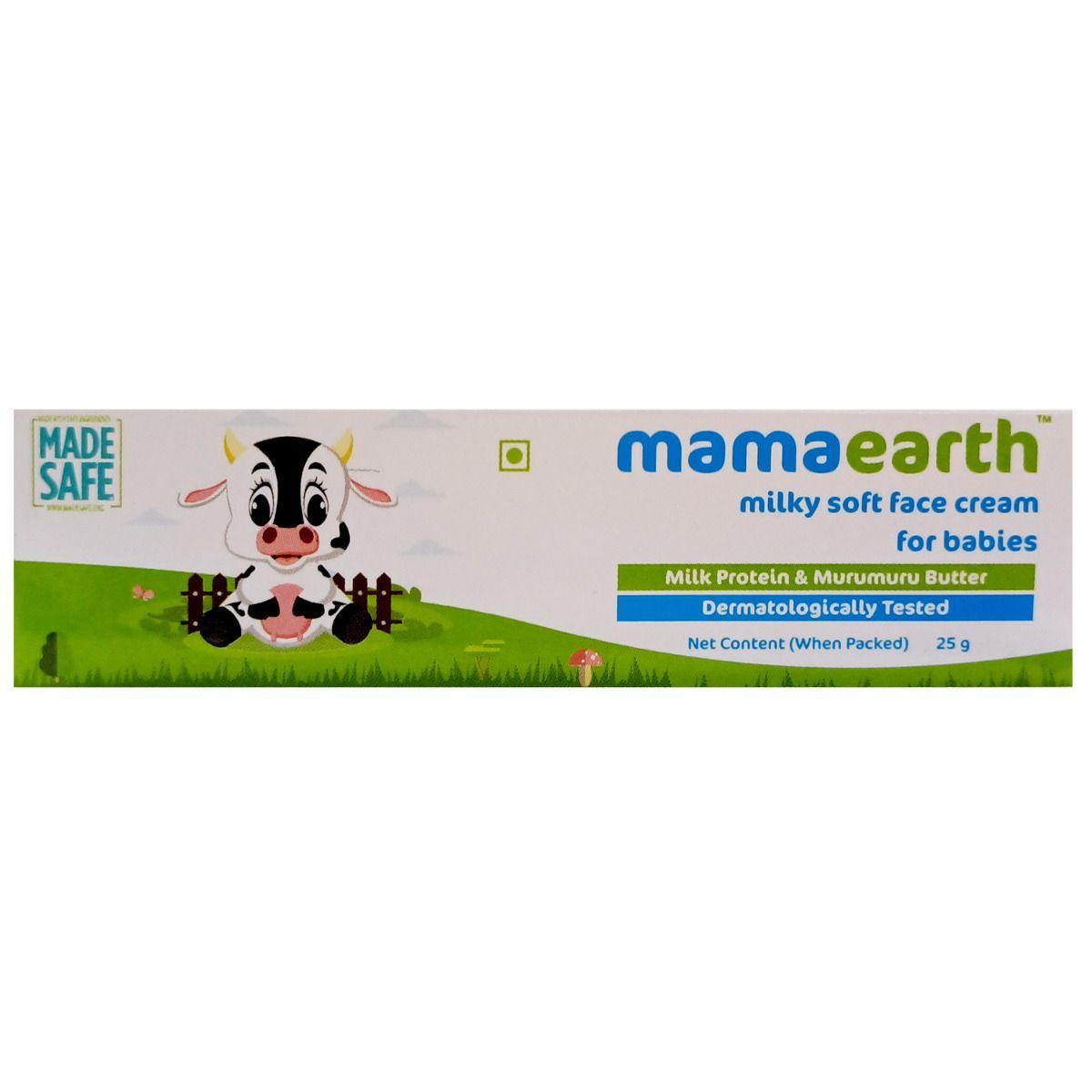 Mamaearth Milky Soft Face Cream Babies, 25 gm