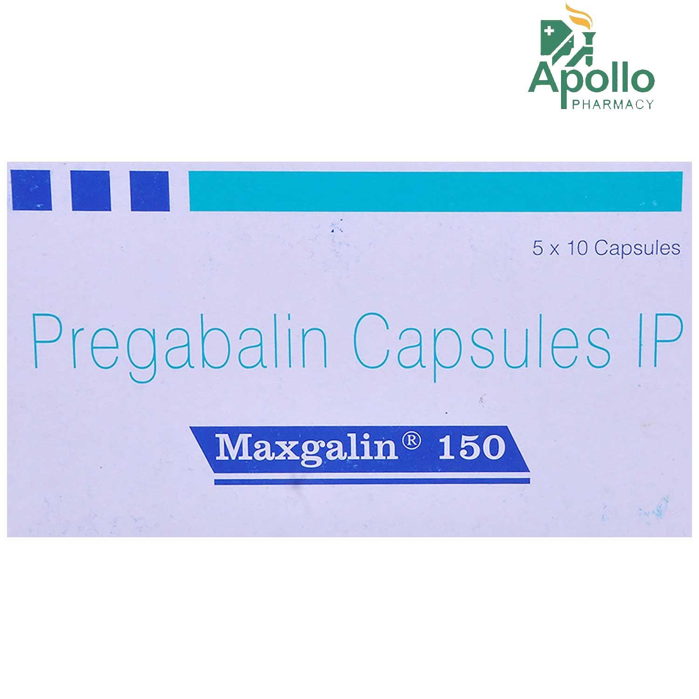 Maxgalin 150 Capsule 10's