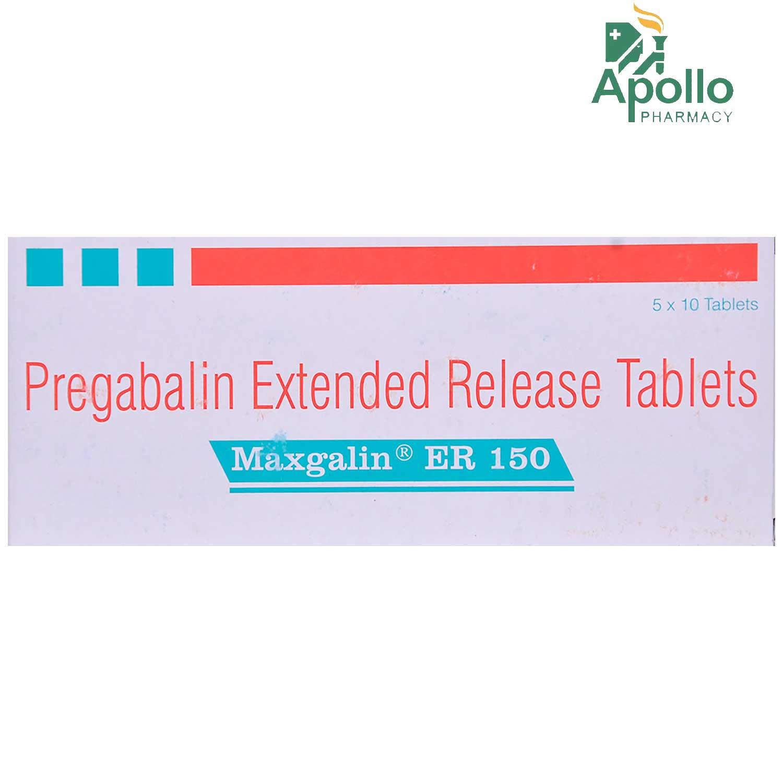 Maxgalin ER 150 Tablet 10's