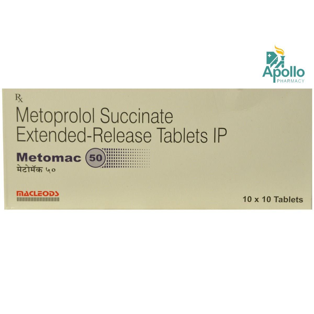 METOMAC 50MG TABLET