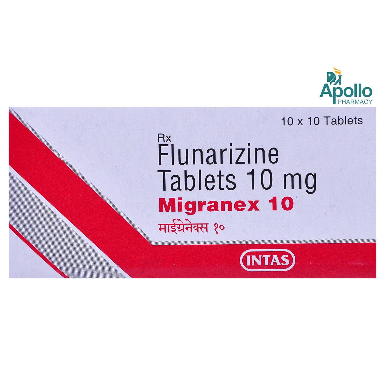 Migranex 10 Tablet 10's