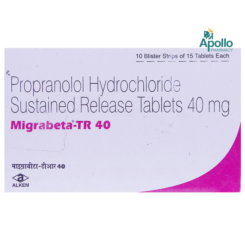 Migrabeta-TR 40 Tablet 15's