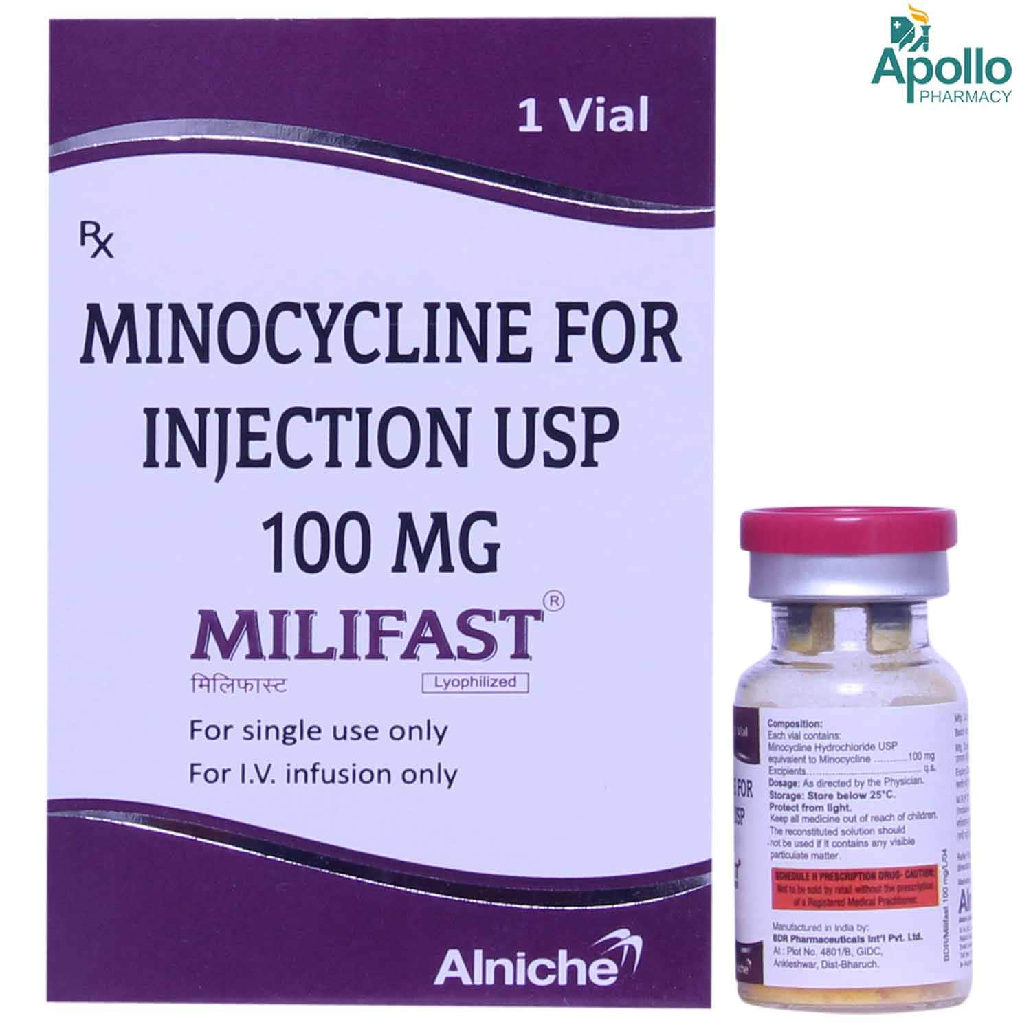 Milifast 100mg Injection