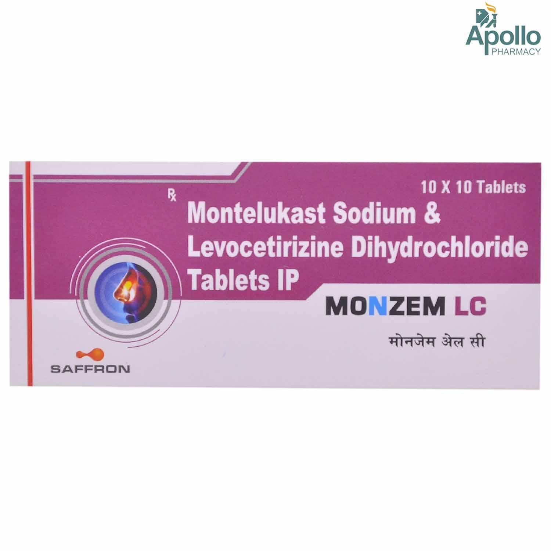 Monzem LC Tablet 10's