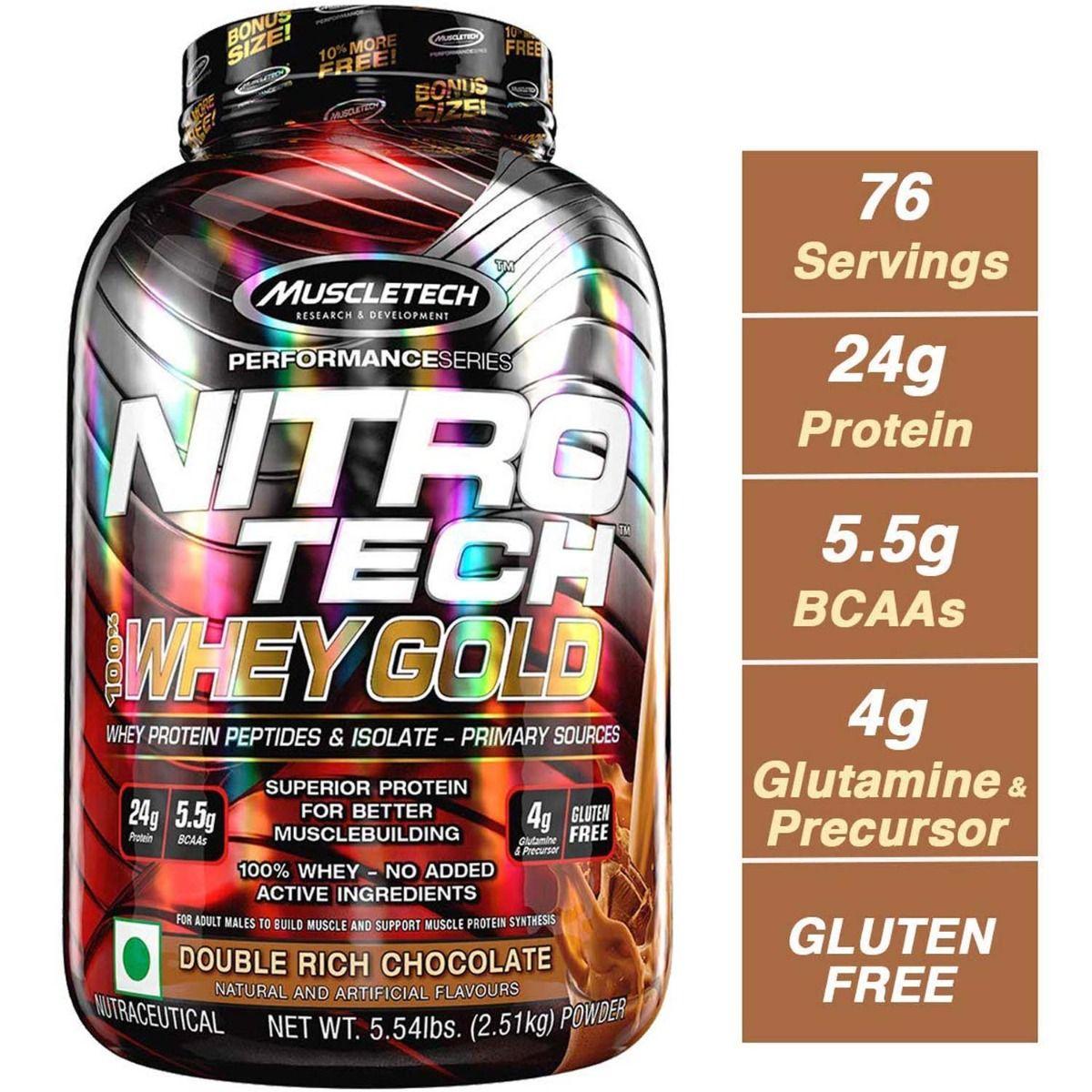 Muscletech Nitrotech Whey Chocolate 5.5 lb