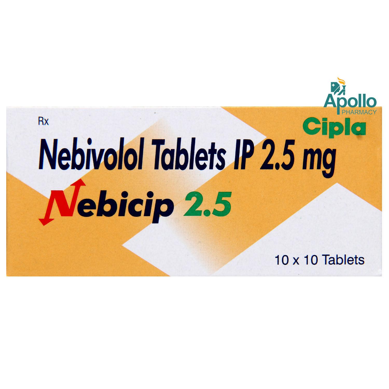 Nebicip 2.5 Tablet 10's
