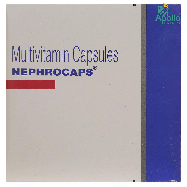 Nephrocaps Capsule 15's