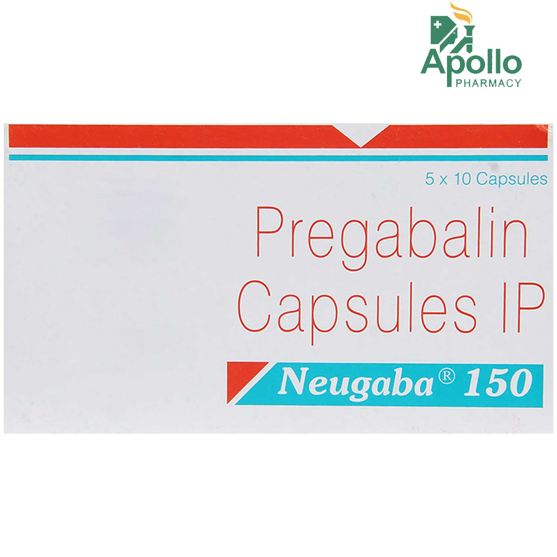 NEUGABA 150MG CAPSULE
