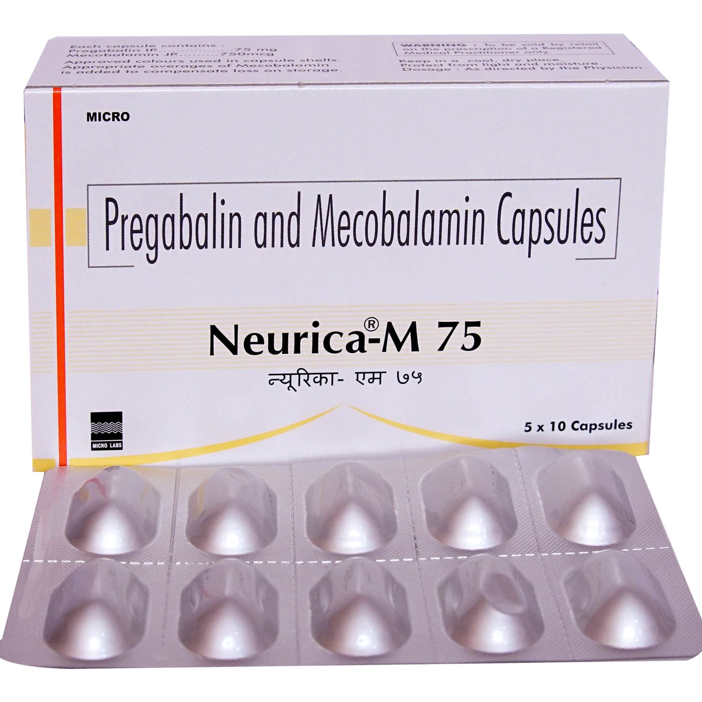 Neurica-M 75 Capsule 10's