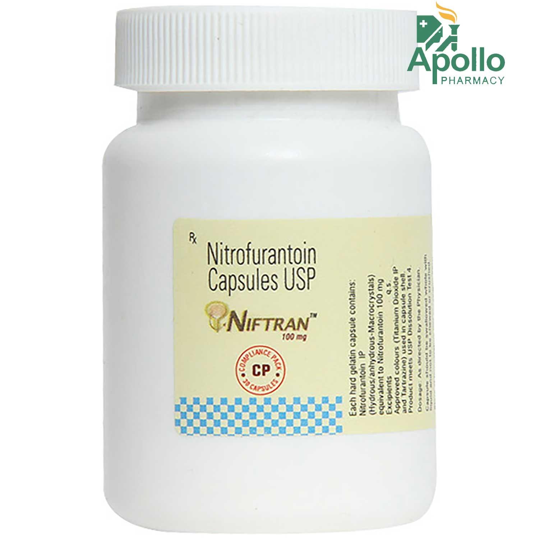 Niftran 100 mg Tablet 30's
