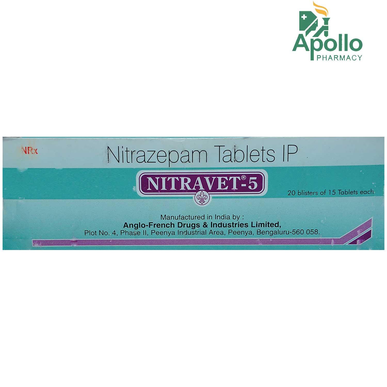 NITRAVET 5MG TABLET 15'S