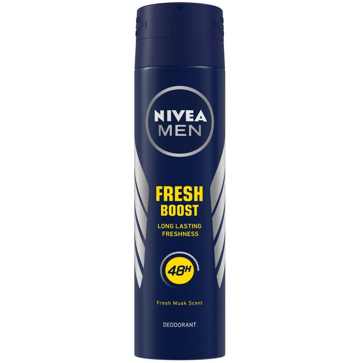 Nivea Men Fresh Boost Deodorant, 150 ml