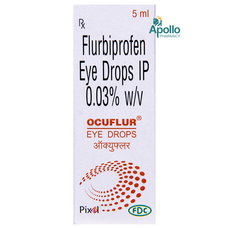 OCUFLUR EYE&EAR DROPS 5ML