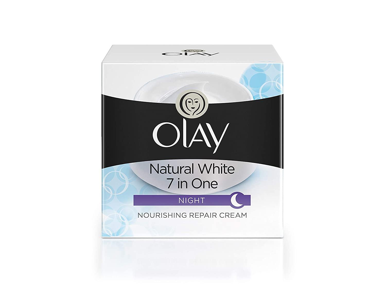 Olay Natural White Night Cream, 50 gm