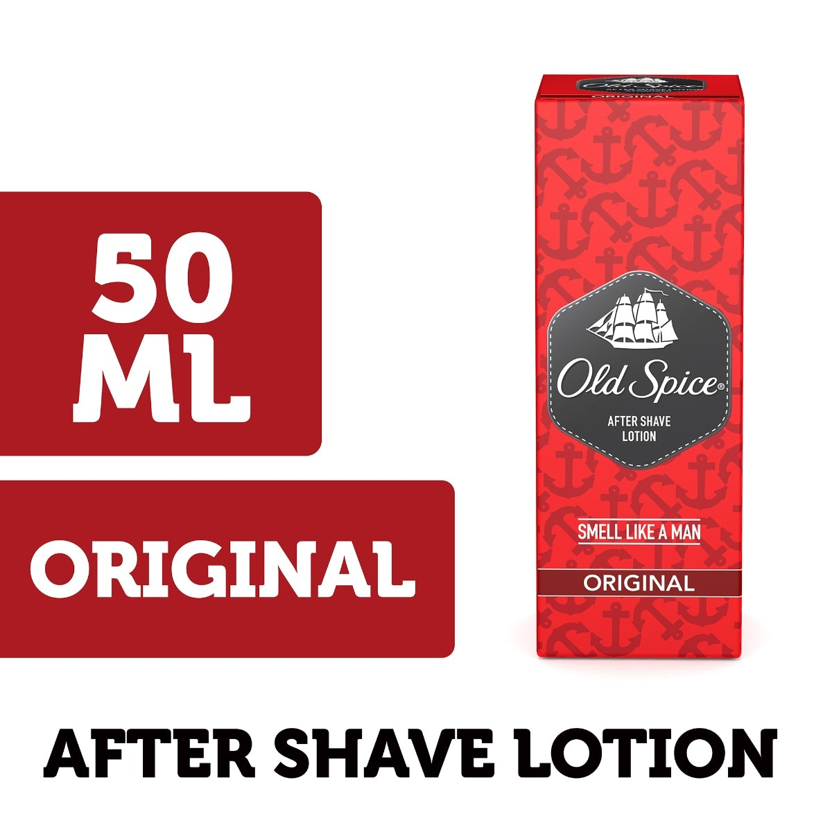 Old Spice Original After Shave Lotion, 50 ml