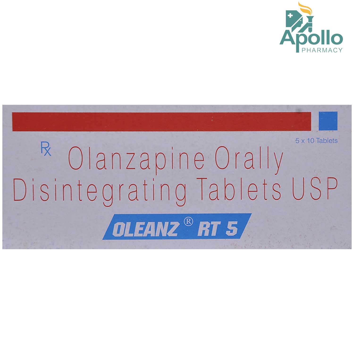 Oleanz RT 5 Tablet 10's