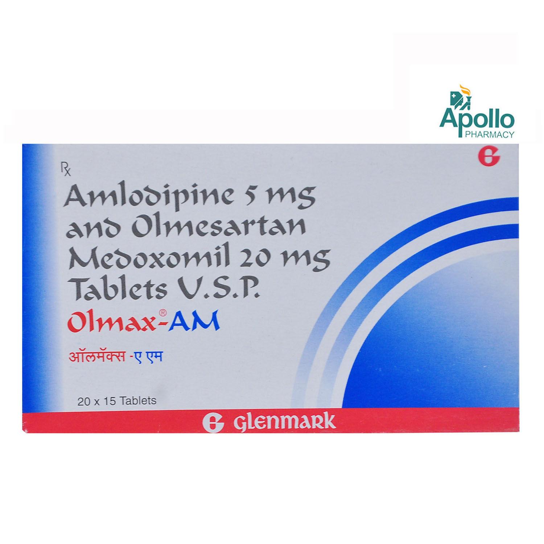 Olmax AM Tablet 15's