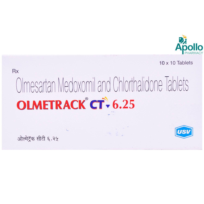 OLMETRACK CT 6.25MG TABLET