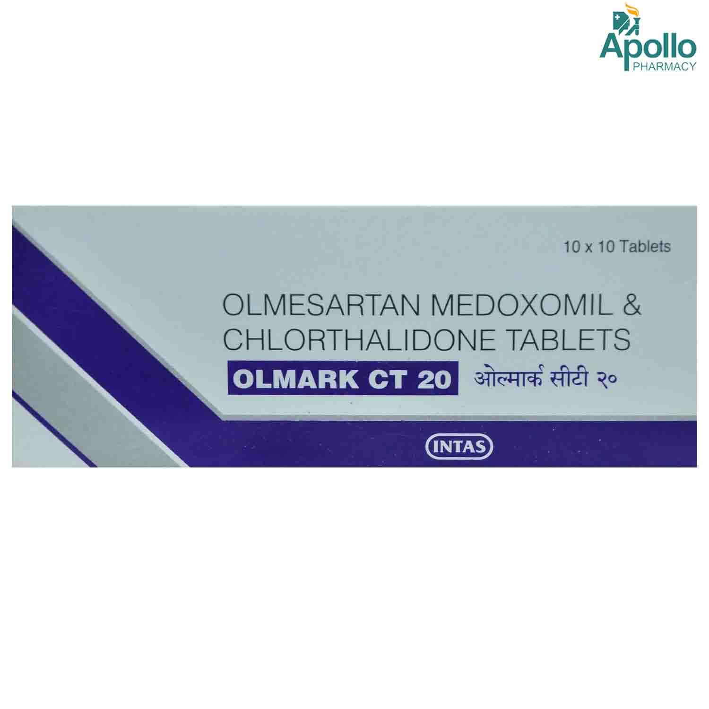 OLMARK CT 20MG TABLET 10'S