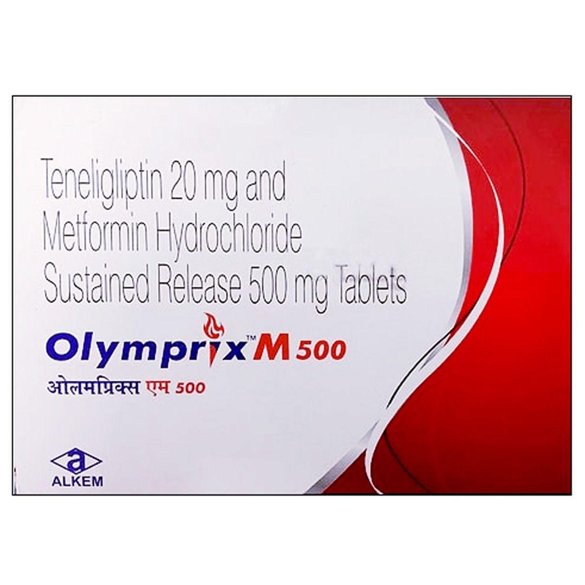 Olymprix M 500 Tablet 15's