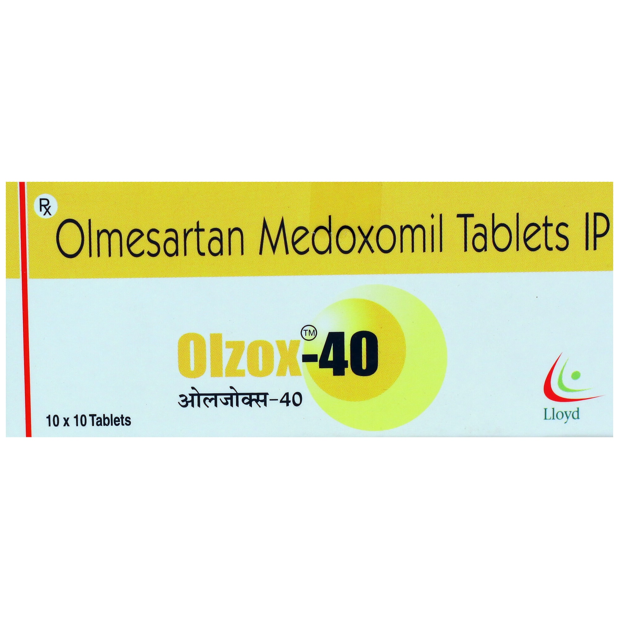 Olzox-40 Tablet 10's