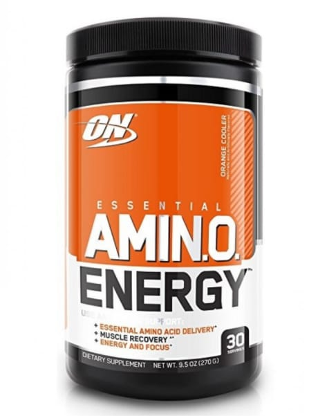 Optimum Nutrition (ON) Orange Flavour Essential Amino Energy Powder, 270 gm