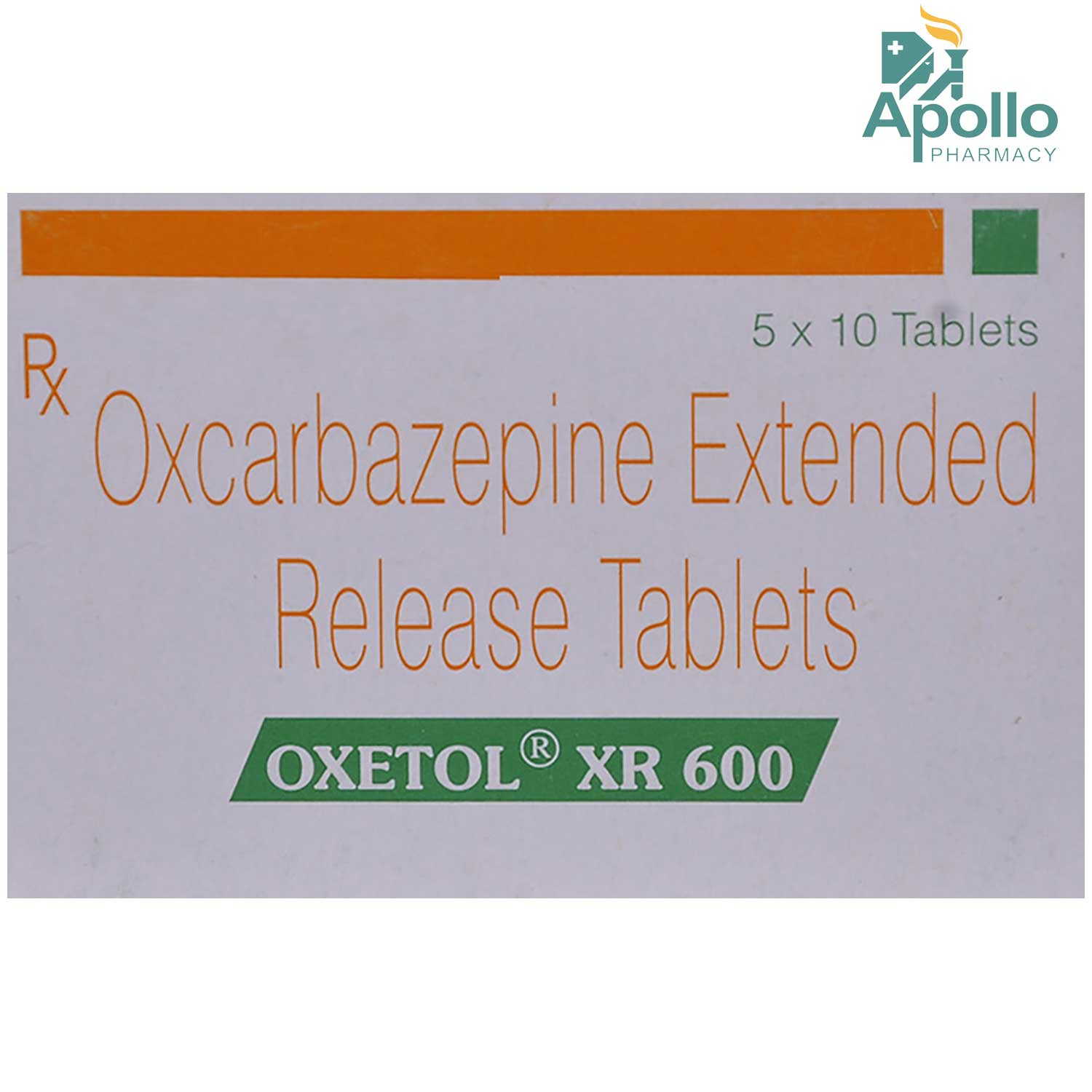 Oxetol XR 600 Tablet 10's