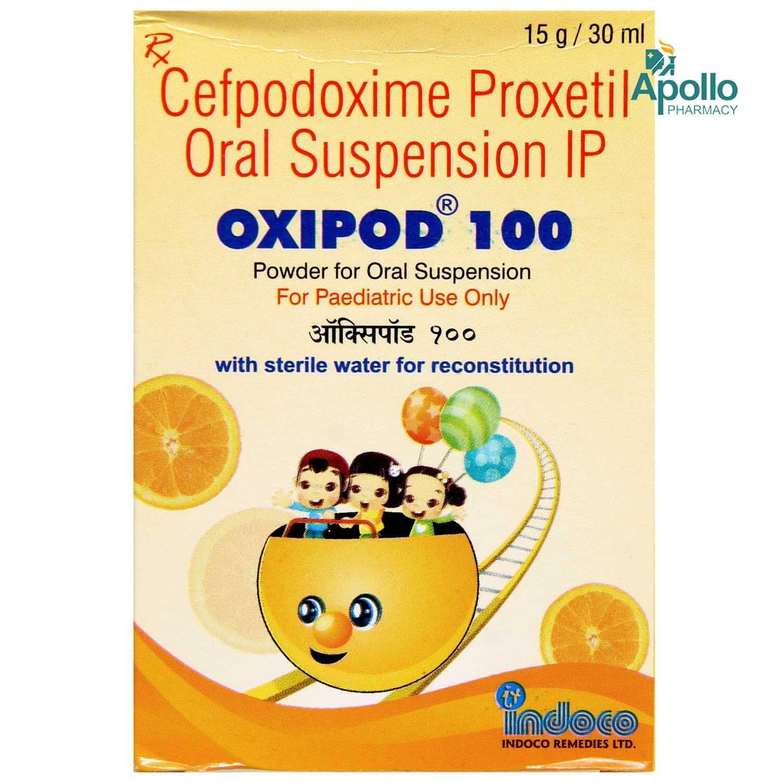 Oxipod 100 Oral Suspension 30 ml