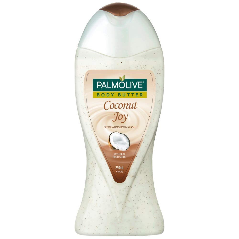 Palmolive Body Butter Coconut Joy Body Wash, 250 ml