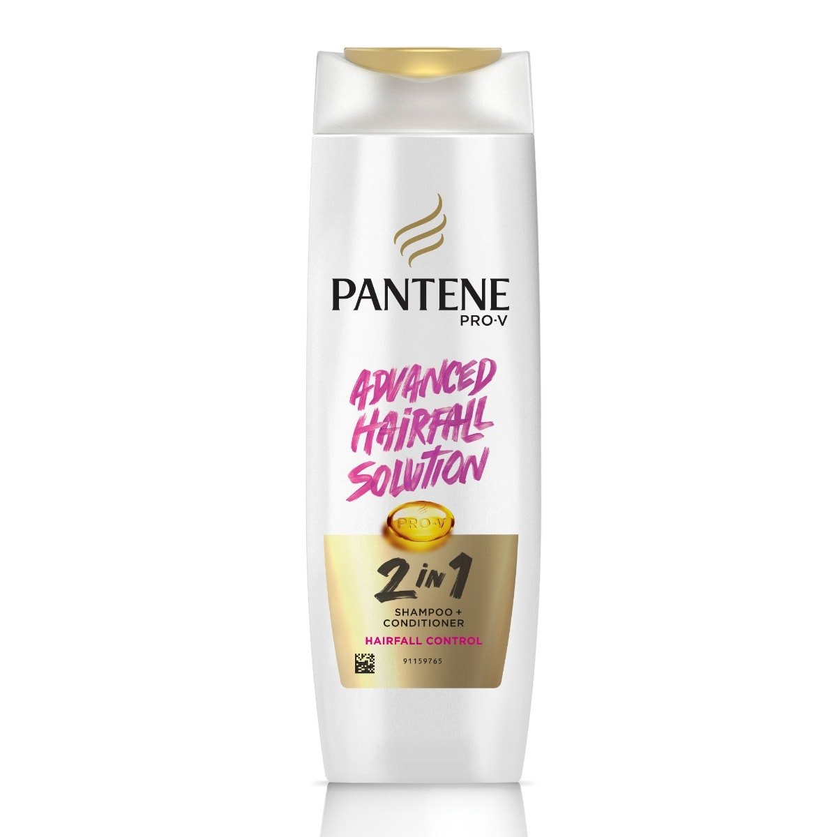 Pantene Pro-V 2 In 1 Hair Fall Control Shampoo + Conditioner, 180 ml