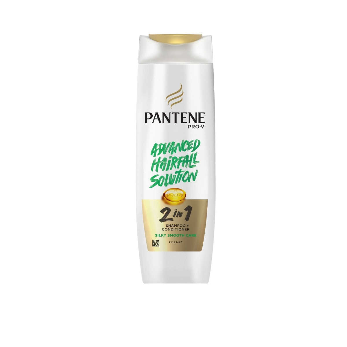 Pantene Pro-V 2 In 1 Silky Smooth Care Shampoo + Conditioner, 180 ml