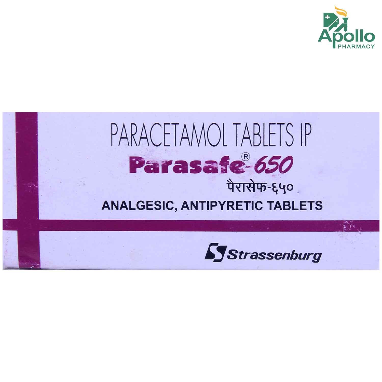 Parasafe-650 Tablet 10's