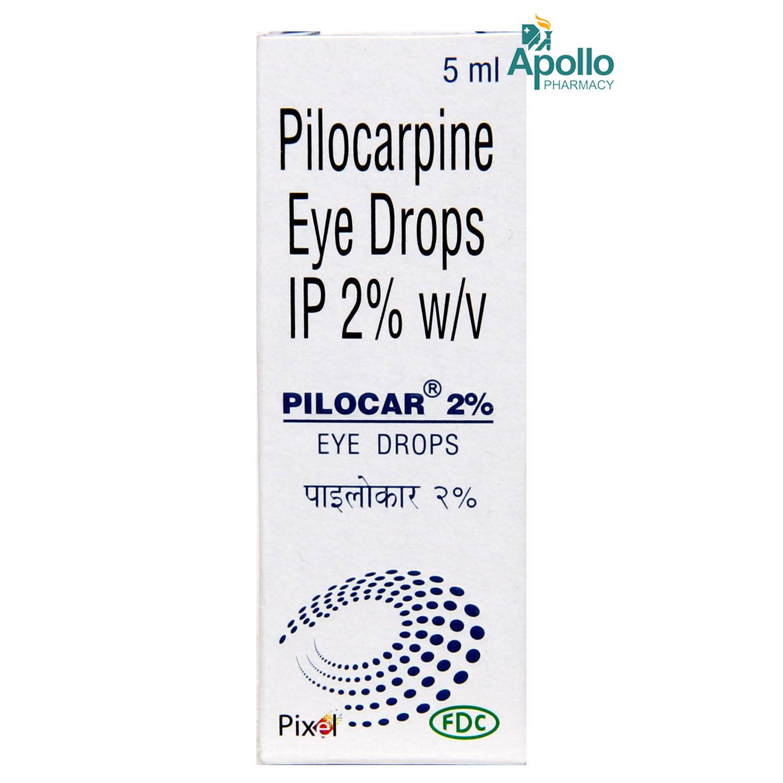 Pilocar 2% Eye Drops 5 ml