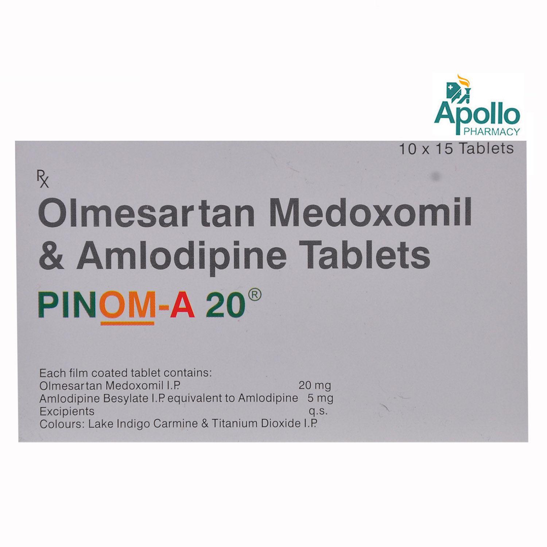 Pinom-A 20 Tablet 15's