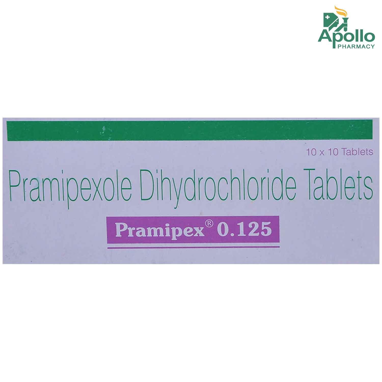 PRAMIPEX 0.125MG TABLET