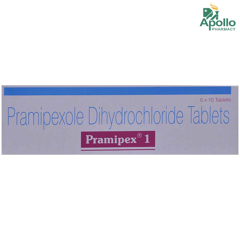 Pramipex 1 Tablet 10's
