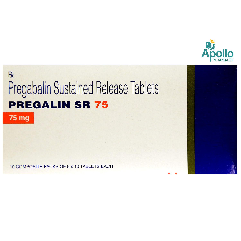 Pregalin SR 75 Tablet 10's